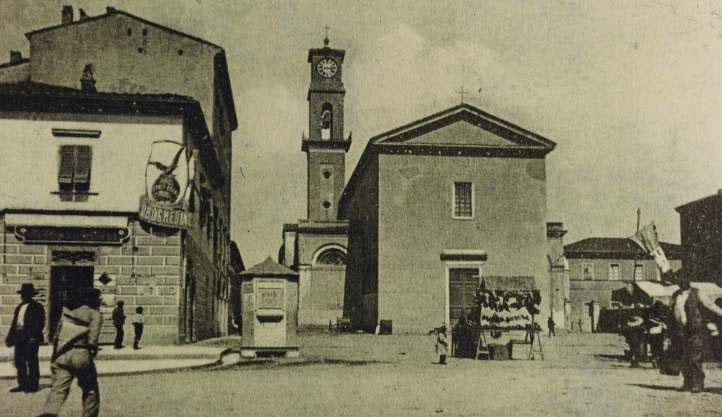 Cecina Timbri - Cecina nel secolo scorso