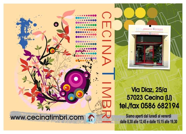 Cecina Timbri - Cartolina 2014
